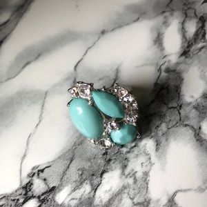 Jewelry - Turquoise & Silver Statement Ring